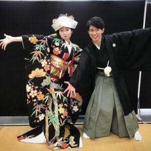 朝ドラ「おちょやん」に出演中の井上拓哉さんと東野絢香さん