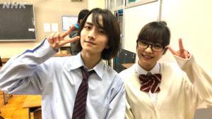 板垣李光人さんと吉柳咲良さん