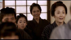 映画『もういちど』出演の向かって右・背が高いほうが細田佳央太さん、左・背が低いほうが竹場龍生さん